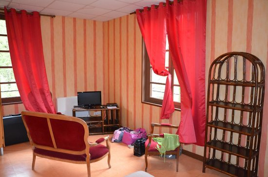 Hotel Le Natural: Ch 4 coin télé
