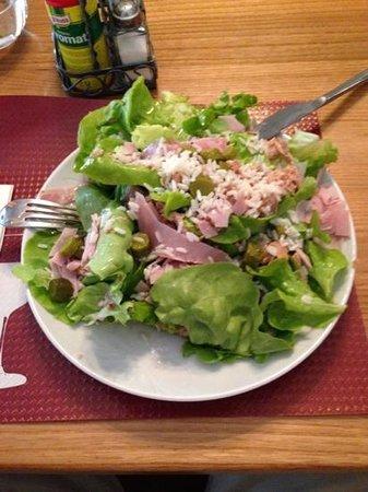 Ristorante Battello: Salata prosciutto e riso