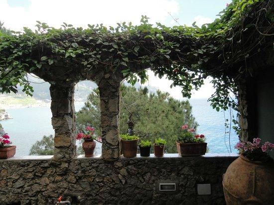 Villa San Michele: Terrassenaussicht