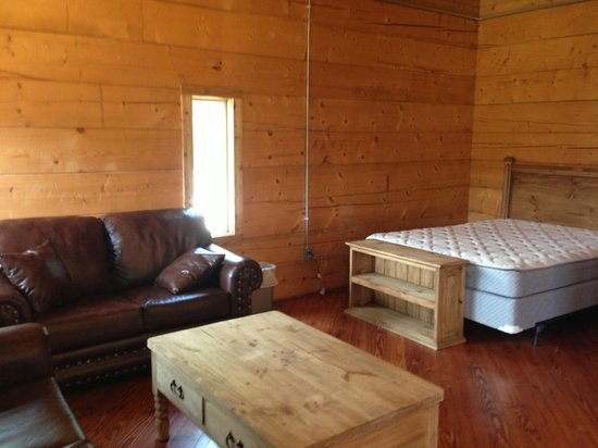 New Caney, TX: Queen Bed Two and Loveseat (Pull-Out Couch Not Pictured)