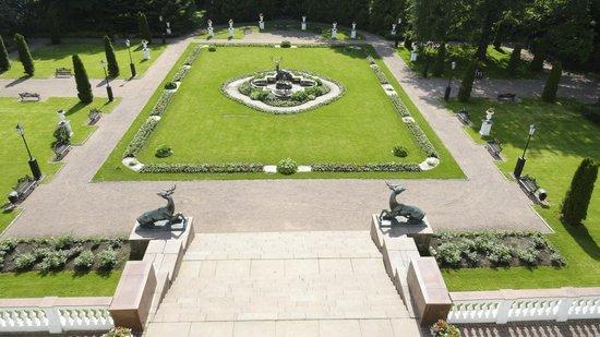 Park-Hotel Morozovka : Morozovka's Rear Courtyard