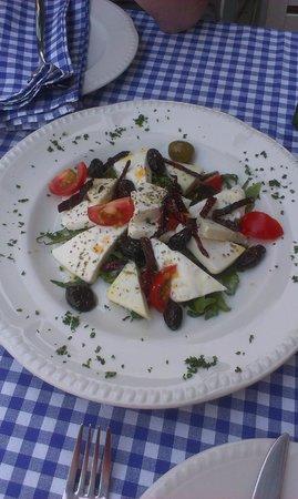 Fish & Zelenish: Goat cheese