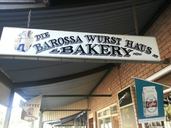 Die Barossa Wurst Haus & Bakery: this is the cafe