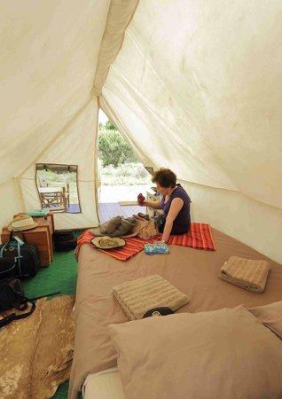 Quatermains 1920s Safari Camp: Tent Interior