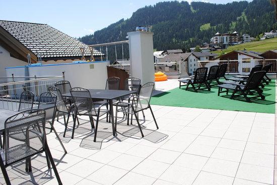 Apart Hotel Bergköenig: Sommer-Sonnenterrasse