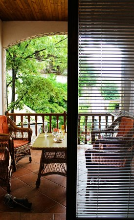 Pansion Cardak: Balcony & view from the room