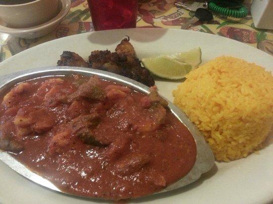 El Siboney Restaurant: Shrimp Enchilado
