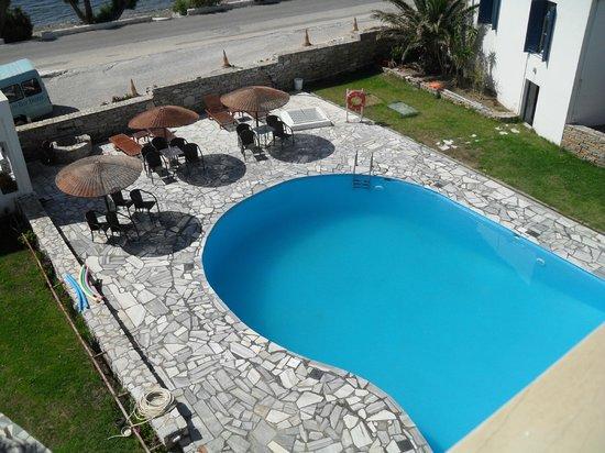 Aeolos Bay Hotel: Zwembad bij het hotel