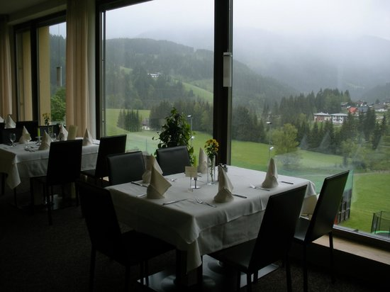 "Hotel ...mein Neubergerhof: the "" New Dining Room"" with Panorama Windows"
