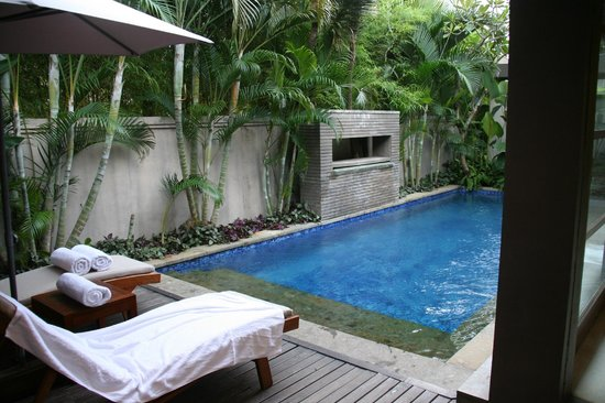 Akara Villas: Private pool inside the villa