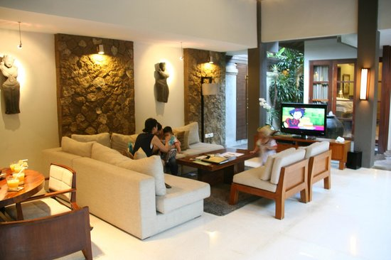 Akara Villas: Roomy and the design is very modern