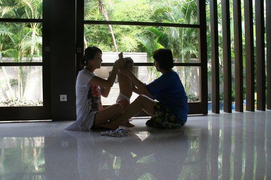 Akara Villas : Great fun with child