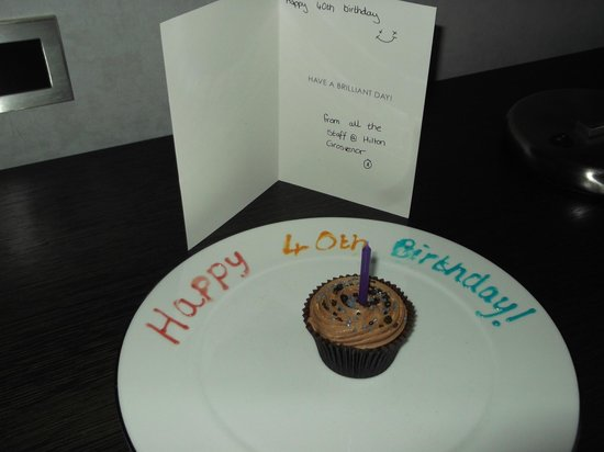 Hilton Glasgow Grosvenor Hotel: A thoughtful touch...