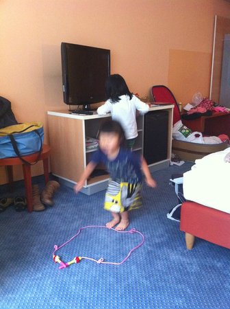 Welcome Hotel Marburg: 子供が遊ぶことができるくらいゆったりしていました