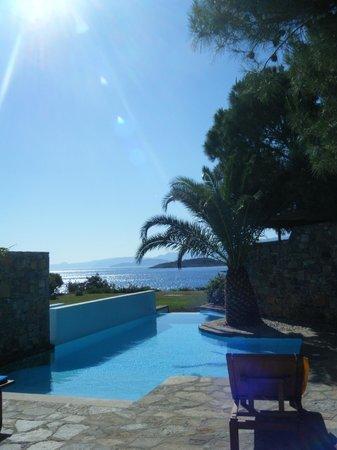 St. Nicolas Bay Resort Hotel & Villas: Our private pool
