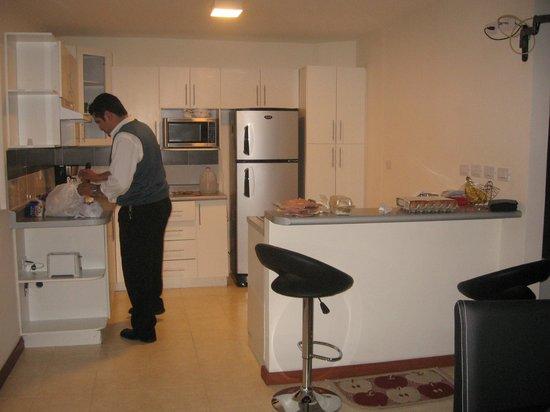 Stanza Hotel & Spa: cocina en el apartamento