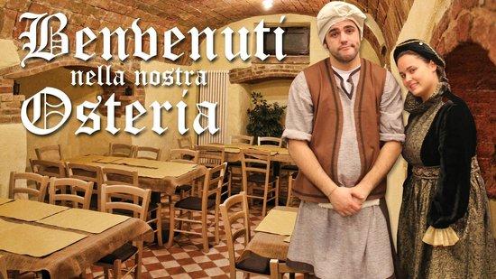 Castelraimondo, Italia: La sala per feste, il grottino!
