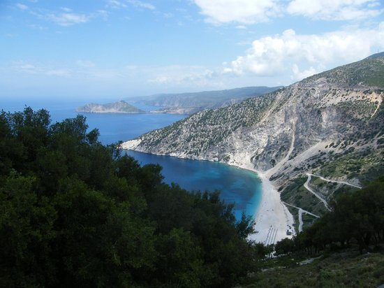 Hotel Summery: Myrtos beach on way to Fiskardo