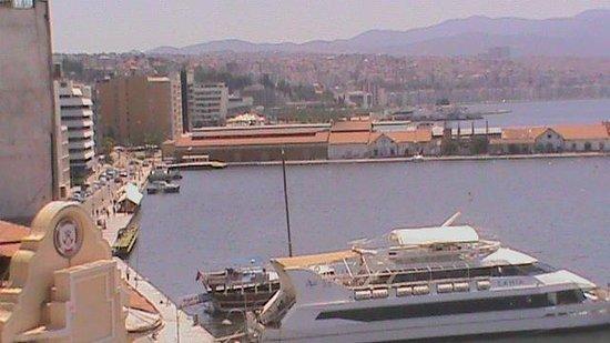 Kilim Hotel: View from my room Izmir Kilim Otel