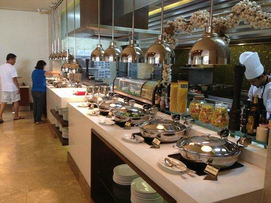 Marco Polo Davao: Great buffet breakfast