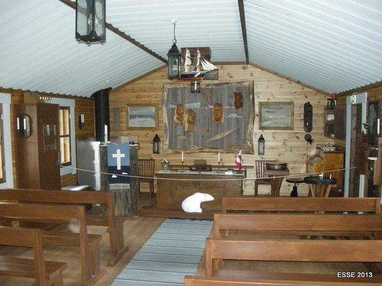 Arctic Museum Nanoq: Interior, the Church