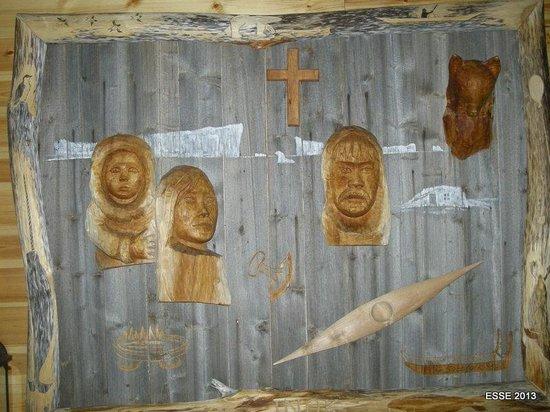 Arctic Museum Nanoq: The Altar piece, the Vhurch