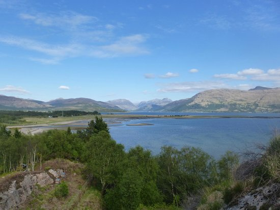 Ard Daraich: View from the top of the garden