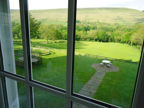 Losehill House Hotel & Spa: View from dining room