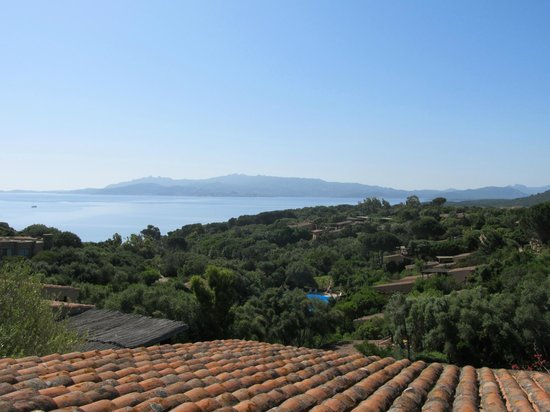 Residence Il Mirto: uitzicht appartement