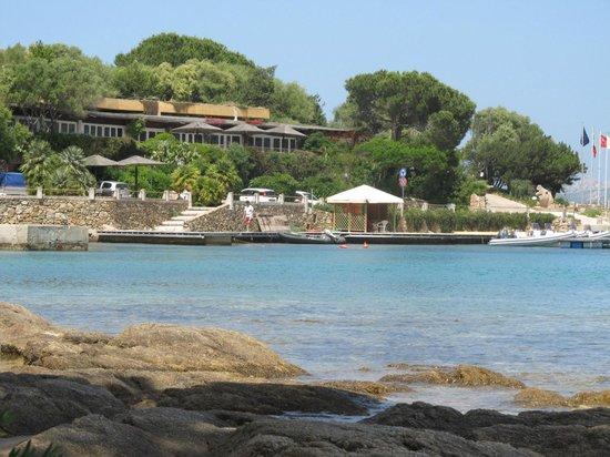 Residence Il Mirto: uitzicht van  het strand