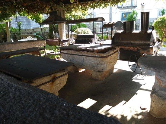 Hotel Rural Casa da Anta: Decorações típicas