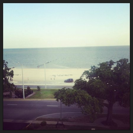 Hampton Inn Biloxi: View from our room