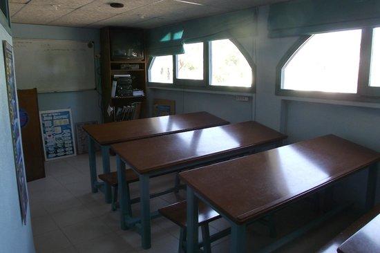 Aiguablava dive center: Aula de clase