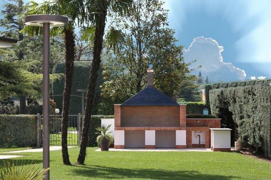 Hotel Veronello: barbecue