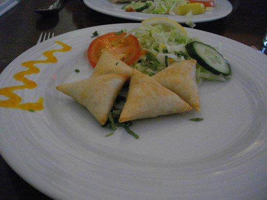 Mela Spice Fusion: Trio of Samosas (Chicken, Lamb and Vegetable)