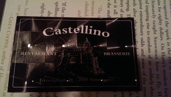 Groenplaats: restaurant castellino