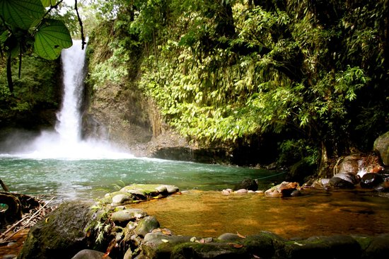 Shishink: blue waterfall