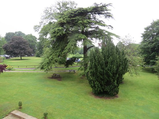 Owston Hall Hotel: View from room 66