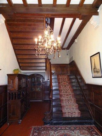 Hotel de Goezeput: Charming hallway