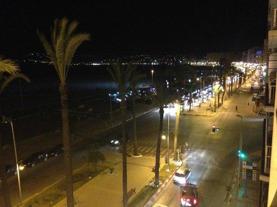 Atlas Rif Front Beach Tanger: Vistas desde la habitación
