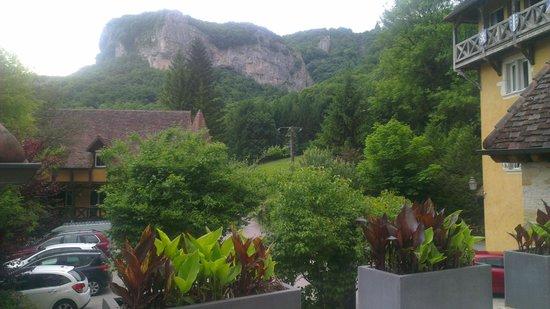 Castel Damandre: Vu du site de l'hôtel