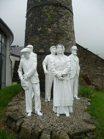 Wheal Martyn: Models to meet you at the door.