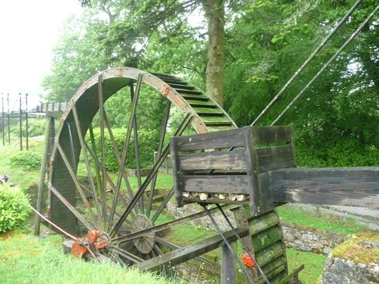 Wheal Martyn: Working Waterwheel.