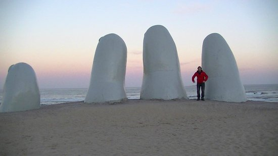 Punta del Este, Uruguay: Takes a long time to get the fingers for yourself !
