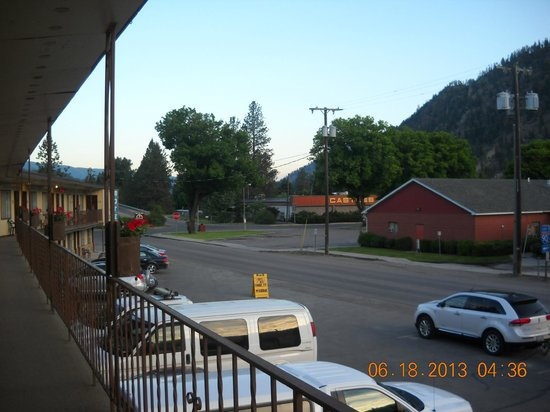 Big Sky Motel: rooms with a view