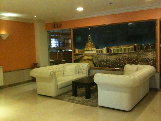 Hotel Avenida de Fatima: recepcion