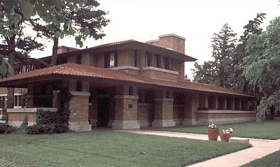 ‪Frank Lloyd Wright's Allen House‬