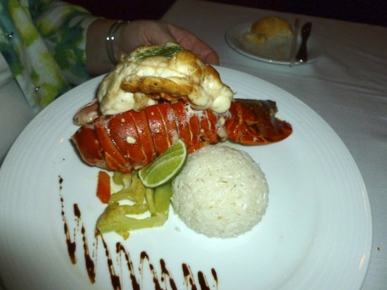 Zoetry Agua Punta Cana: Fresh lobster!
