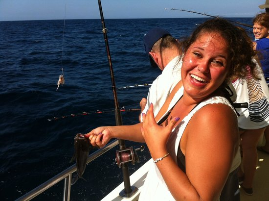 That 39 s my girl picture of majesty deep sea fishing at for Deep sea fishing jacksonville fl