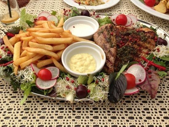Swinoujscie, Poland: Grillteller (1Pers)